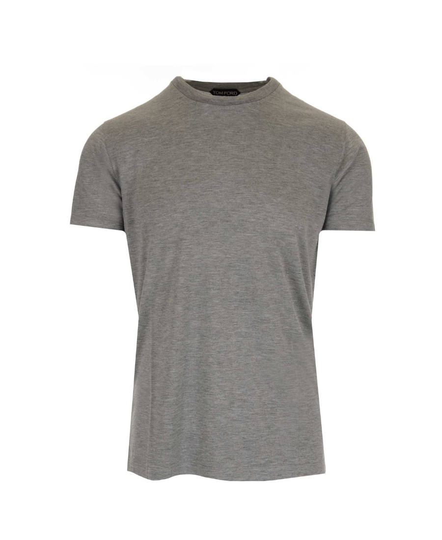 Tom Ford 短袖圆领t恤 In Gray