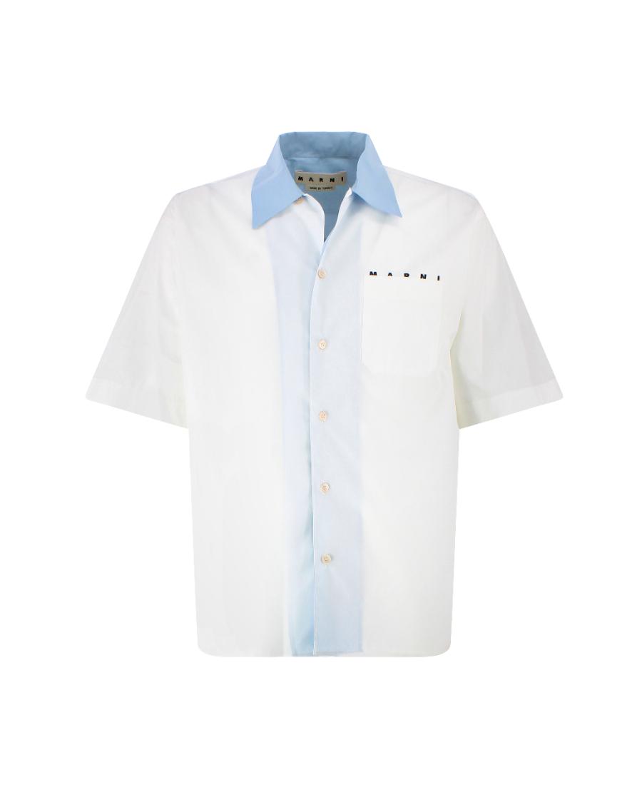 Marni 贴袋衬衫 In White