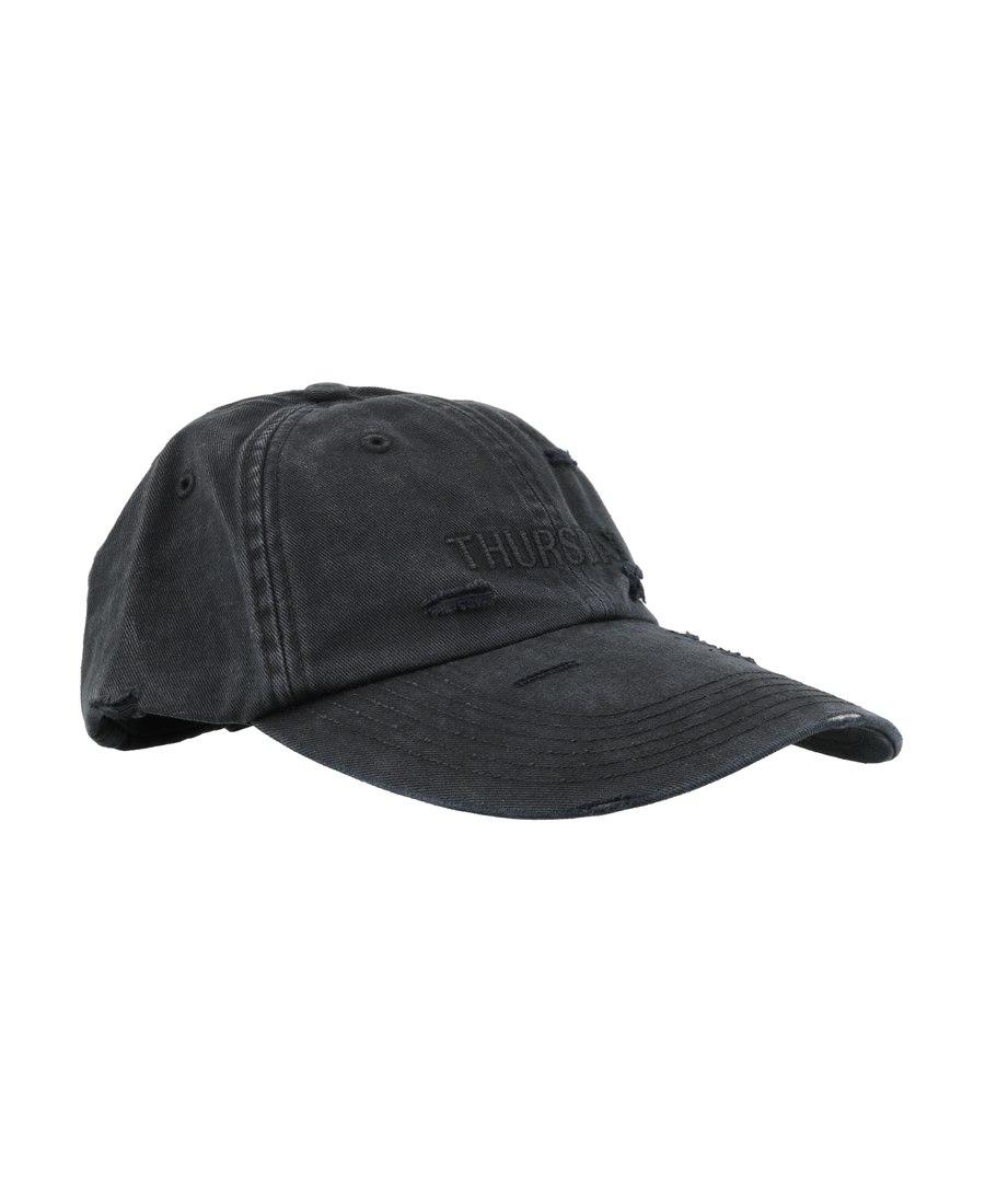 Vetements Thursday 刺绣棒球帽 In Black