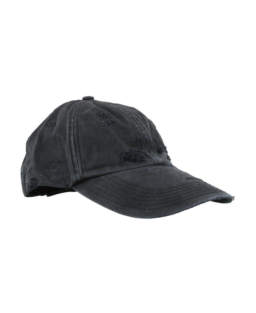 Vetements Friday 刺绣棒球帽 In Gray